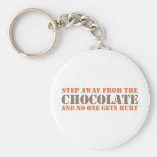 チョコレートから遠くになステップ キーホルダー