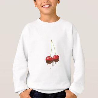 チョコレートさくらんぼのプルオーバーのスエットシャツ スウェットシャツ