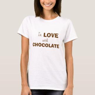 チョコレートとの愛 Tシャツ