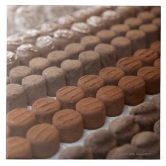 チョコレートのチョコレート店の店の表示 タイル