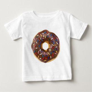 チョコレートはドーナツを振りかけます ベビーTシャツ