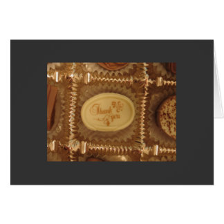 チョコレートは感謝していしています カード