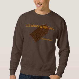 チョコレートは私のガイドです スウェットシャツ