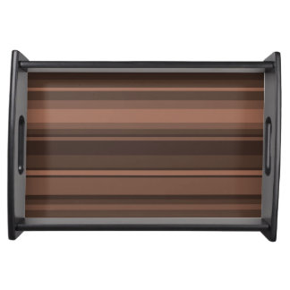 チョコレートは縞で飾ります トレー