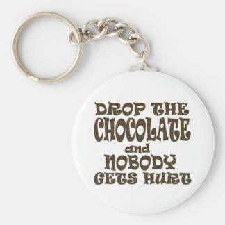 チョコレートを落とせばだれも傷つきません キーホルダー