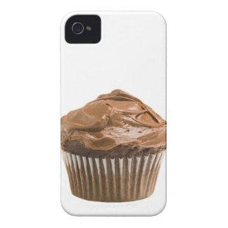チョコレートアイシング、スタジオの打撃が付いているカップケーキ Case-Mate iPhone 4 ケース