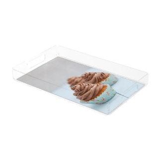 チョコレートカップケーキ アクリルトレー