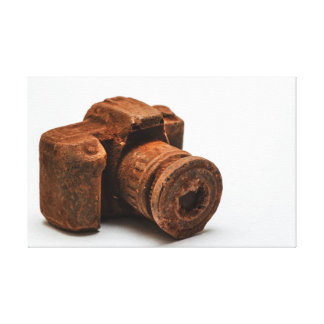 チョコレートカメラ キャンバスプリント