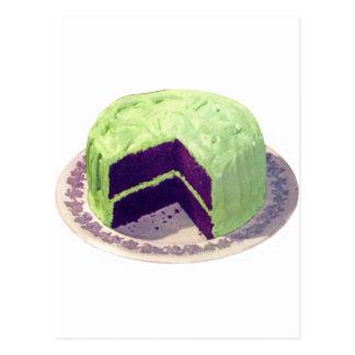 チョコレートケーキ1951年 葉書き