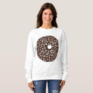チョコレートココナッツドーナツドーナツスエットシャツ スウェットシャツ