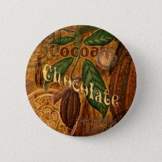 チョコレートコラージュ 5.7CM 丸型バッジ