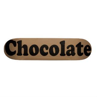チョコレートスケートボード カスタムスケートボード