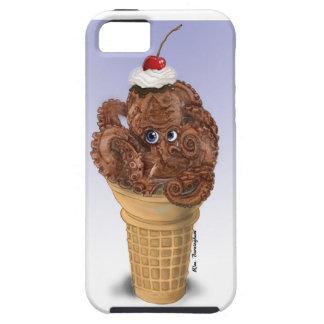 チョコレートタコのアイスクリーム iPhone SE/5/5s ケース