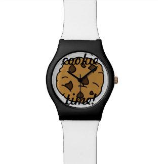 チョコレートチップスの「クッキーの時間」腕時計 腕時計