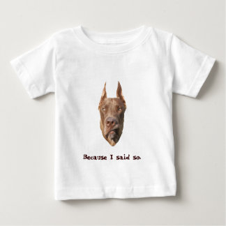 チョコレートデンマーク人 ベビーTシャツ