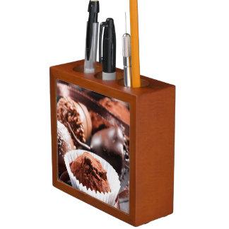 チョコレートトラッフル ペンスタンド