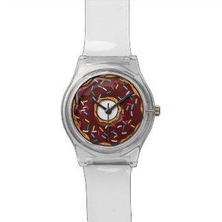 チョコレートドーナツはとの振りかけます 腕時計