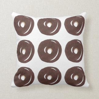 チョコレートドーナツドーナツドーナツグルメの食糧枕 クッション
