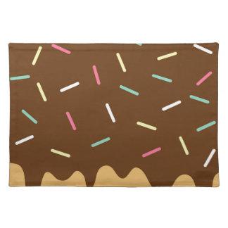 チョコレートドーナツ ランチョンマット