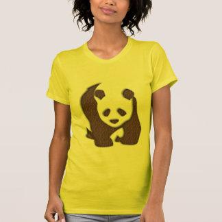 チョコレートパンダの女性Tシャツ Tシャツ