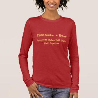 チョコレートビールTシャツ Tシャツ