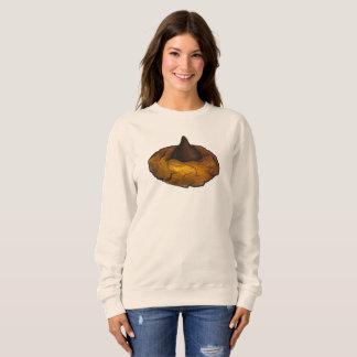 チョコレートピーナッツバターのクッキーのベーキングのスエットシャツ スウェットシャツ