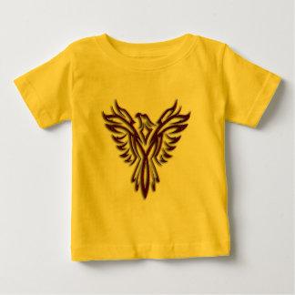 チョコレートフェニックスの乳児のTシャツ ベビーTシャツ