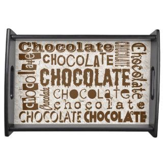 チョコレートフォントの混乱の装飾者 トレー