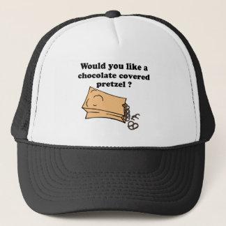 チョコレートプレッツェル キャップ