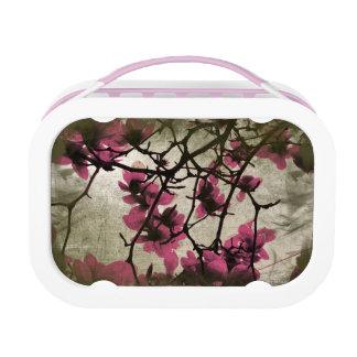 チョコレートラズベリーの花の枝ランチボックス ランチボックス