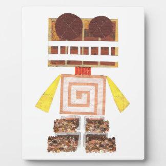 チョコレートロボットイーゼル フォトプラーク