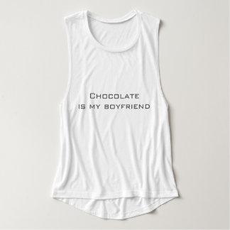 チョコレート上タンク タンクトップ