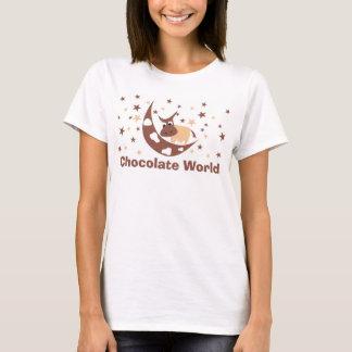 チョコレート世界 Tシャツ
