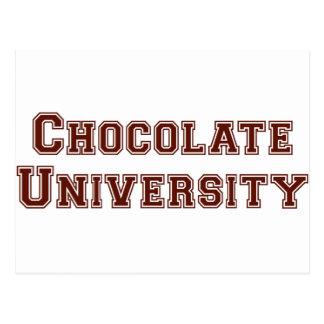 チョコレート大学 ポストカード