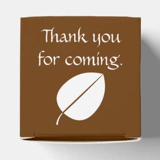チョコレート好意箱の紅葉 フェイバーボックス