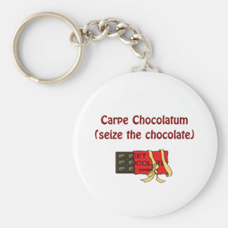 チョコレート恋人のキーホルダー ベーシック丸型缶キーホルダー