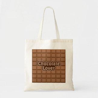 チョコレート恋人のバッグ-スタイル及び色を選んで下さい トートバッグ