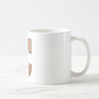 チョコレート手紙C コーヒーマグカップ