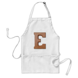 チョコレート手紙E スタンダードエプロン