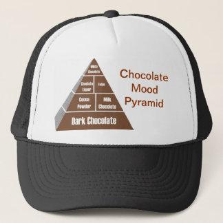 チョコレート気分のピラミッド キャップ