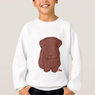チョコレート犬 スウェットシャツ