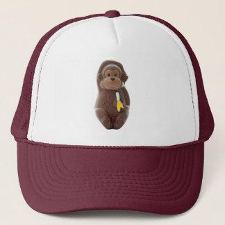 チョコレート猿のトラック運転手の帽子 キャップ
