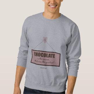 チョコレート答え スウェットシャツ