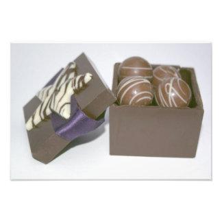 チョコレート箱のイースターエッグ フォトプリント