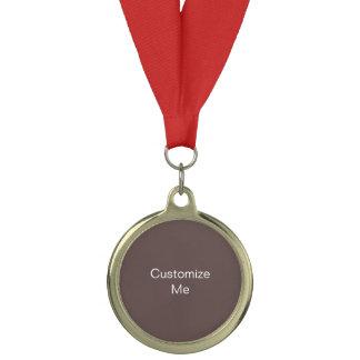 チョコレート色のカスタム メダル