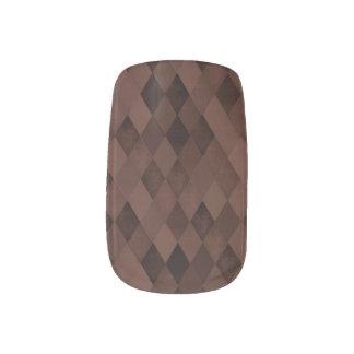 チョコレート色のダイヤモンド ネイルアート