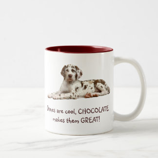 チョコレート道化師 ツートーンマグカップ