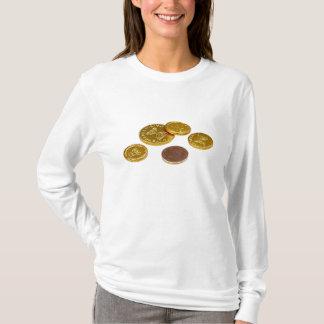 チョコレート金貨 Tシャツ