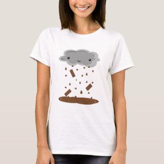 チョコレート雨 Tシャツ