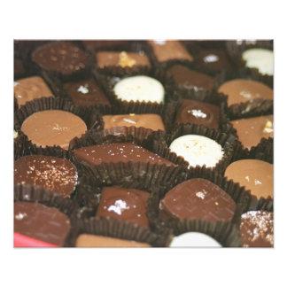 チョコレート類別 フォトプリント